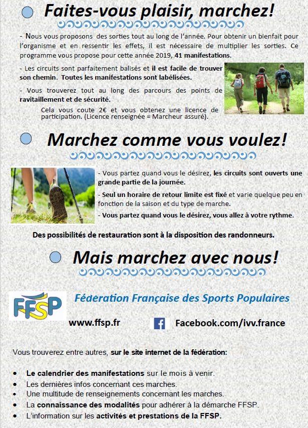 Calendrier Marche Populaire Vosges 2019.Marches Vosges Ffsp 2019