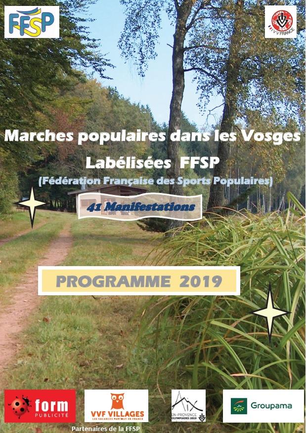 Calendrier Marche Populaire Vosges 2019.Marches Populaires